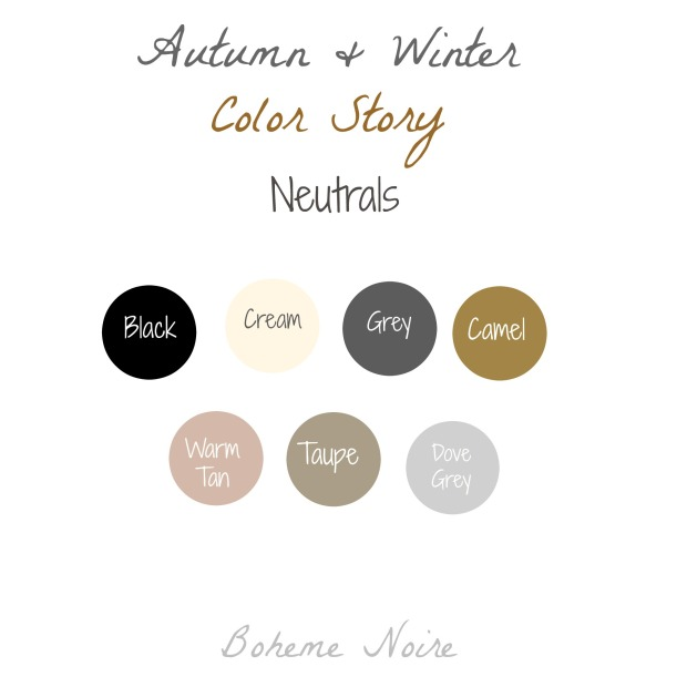 neutrals color story