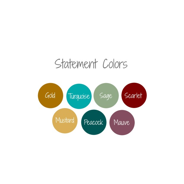 statement colors